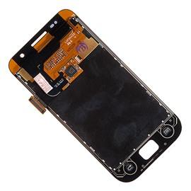 Дисплей LCD Samsung i9003 в сборе с тачскрином (черный)