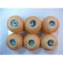 Ирис 150 метров цвет №0602 (абрикосовый)