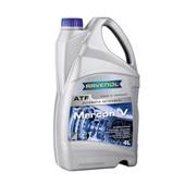 Трансмиссионное масло RAVENOL MERCON V, АКПП ,(4л)