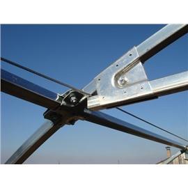 1.Система подвеса для теплицы длиной 4 метра