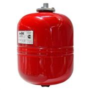Расширительный мембранный бак на 12 литров красный