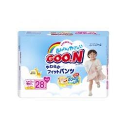 GOON Трусики-Подгузники  для девочек 13-25кг (28шт) XXL