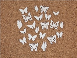 Набор чипбордов бабочек