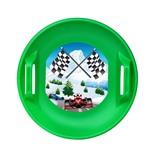 Ледянка дисковая Форсаж, d=60см зеленый