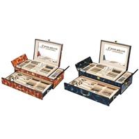 Набор столовых приборов Frank Moller, 72 предмета (ручки золото, деревянный куполообразный чемодан)