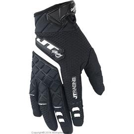 Кроссовые перчатки JT Racing PROTEK черные L