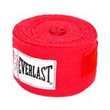 Бинт боксерский 4455RP, 2.75м, х/б, красный