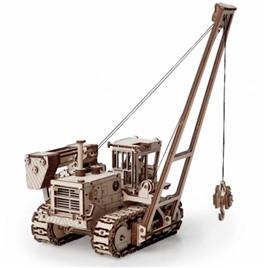 Lemmo Конструктор 3D деревянный Lemmo Трубоукладчик