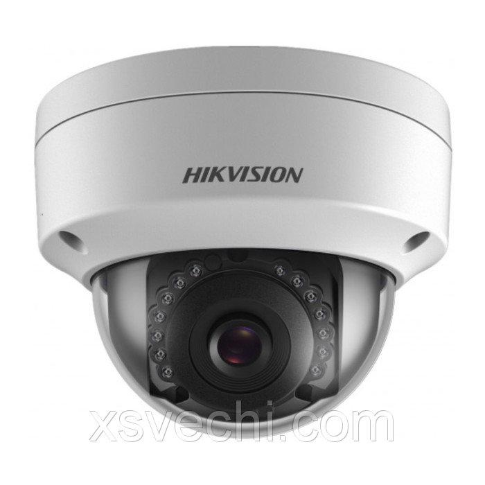 Видеокамера антивандал Hikvision DS-2CD2122FWD-Is (2.8), IP, 1080P (FullHD), PoE