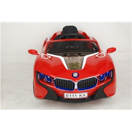 Электромобиль BMW E111KХ, красный
