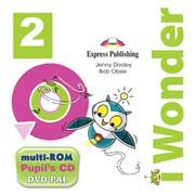 I-wonder 2. Pupils Multi Rom Pal (international). Аудио CD/DVD видео