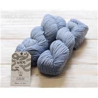 Пряжа Warmi Синий агат6013, 150м/100г, бэби альпака, шерсть мериноса, Amano, Agat blue