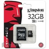 Карта памяти Kingston microSDHC 32GB Class10 UHS-I(SDC10/32GB)+адаптер