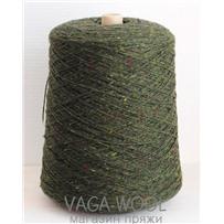 Пряжа Твид-мохер Дуб 2610, 110м/50гр. Knoll Yarns, Mohair Tweed, Oak