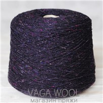 Пряжа Твид Soft Donegal Инжир 5531, 190м в 50 г. Knoll Yarns, Bantry