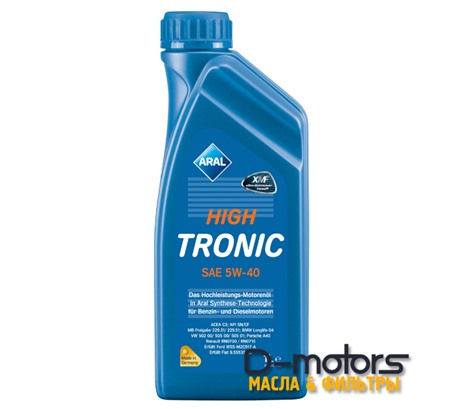 ARAL HIGH TRONIC 5W-40 (1л.)