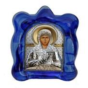 """Икона """" Св.Блаженная Матрона"""" на стекле"""