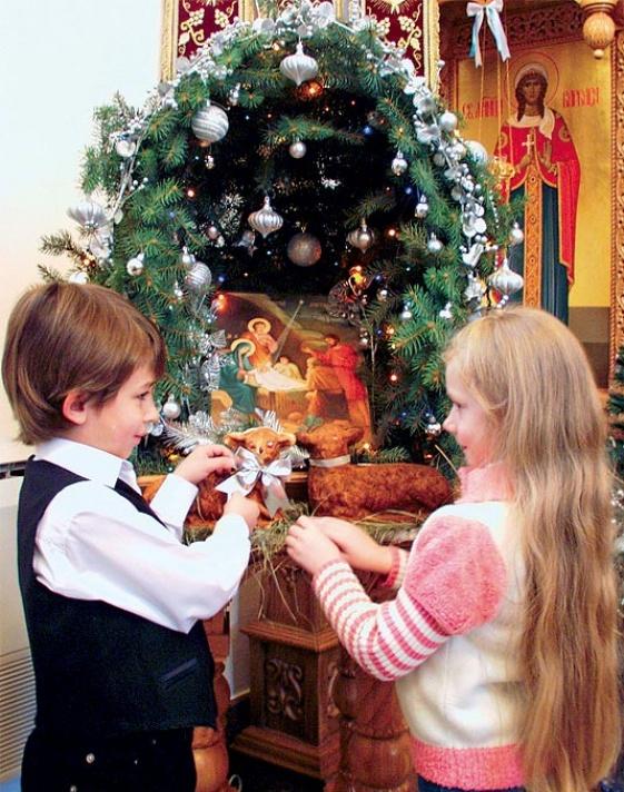 Как приучить ребенка праздновать православное Рождество?