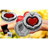 """Монета """"Я отдаю тебе свое сердце"""""""