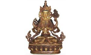 Статуэтки будд и божеств
