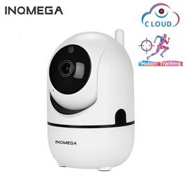 INQMEGA Облачная поворотная Wi-Fi камера INQMEGA (1080p) с функцией слежения за объектом белая