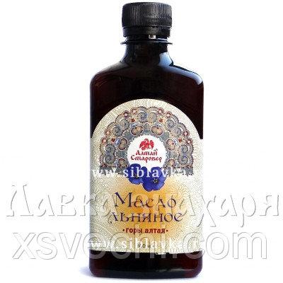 Масло льняное «Горы Алтая»