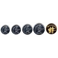 Донбасс набор 5 монет 2015