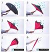 Зонт-наоборот антизонт с кнопкой Журнал