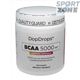 BCAA БЦА DopDrops 5000мг 40serv Клубничное шампанское