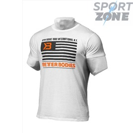 Футболка Better Bodies Mens Steeet Tee, White