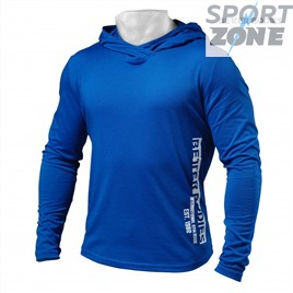 Футболка с длинным рукавом Better Bodies Mens Soft Hoodie, Strong Blue
