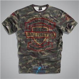Мужская футболка US VINTAGE T-SHIRT CAMOUFLAGE UNCLE SAM
