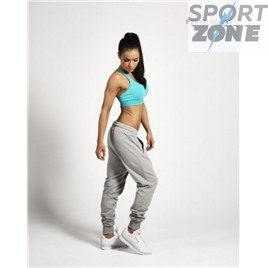 Спортивные штаны хлопок Better bodies Jogger sweat, светло-серые