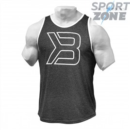 Майка Better Bodies Jersey Tank, Antracite Melange