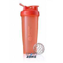 Шейкер для спортивного питания BlenderBottle Classic Full Color 946мл Coral [коралловый]