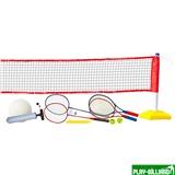 Набор для волейбола, тенниса, бадминтона с регулируемой по высоте сеткой «Prazer 3 в 1» (полный набор аксессуаров), интернет-магазин товаров для бильярда Play-billiard.ru