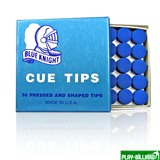 "Наклейка для кия ""Blue Knight"" 12.5 мм, интернет-магазин товаров для бильярда Play-billiard.ru"