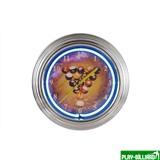 """Часы настенные неон """"Billiard Clock"""", интернет-магазин товаров для бильярда Play-billiard.ru"""