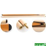 Кий для русского бильярда 2-pc «Tiger Professional» (коричневый), интернет-магазин товаров для бильярда Play-billiard.ru