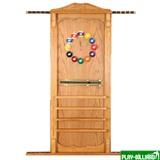 Киевница навесная с полкой для шаров (дуб, 137 х 99 х 8 см), интернет-магазин товаров для бильярда Play-billiard.ru