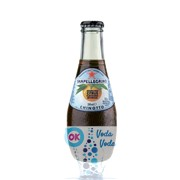 Упаковка газированного сокосодержащего напитка SanPellegrino Chinotto (померанец) 0,2 в стекле - 24 шт.