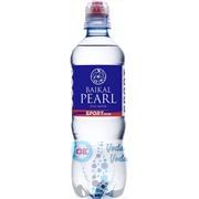 Упаковка негазированной природной воды Baikal Pearl 0,5 sport в пластике - 12 шт.