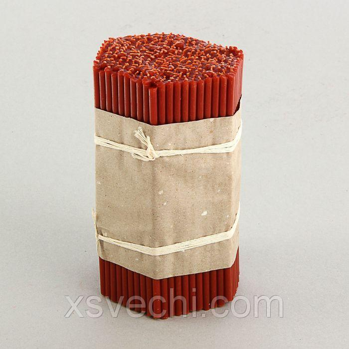 Свечи красные церковные №60 (набор 300шт.)