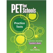 pet for schools practice tests  teacher's book - книга для учителя