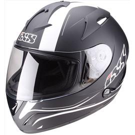 Шлем интеграл HX275 Night черный/белый матовый L