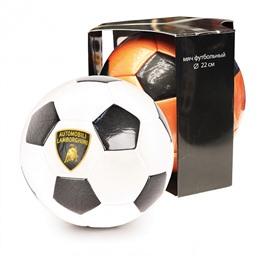 """Мяч футбольный, """"LAMBORGHINI"""" в коробке, белый"""