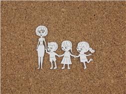 Дети с воспитательницей