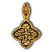 Лилии. Православный крест.