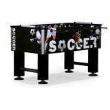Настольный футбол (кикер) «Roma IV» (140x76x87 см, черный), интернет-магазин товаров для бильярда Play-billiard.ru