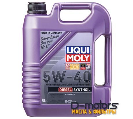 LIQUI MOLY DIESEL SYNTHOIL 5W-40 (5л.)